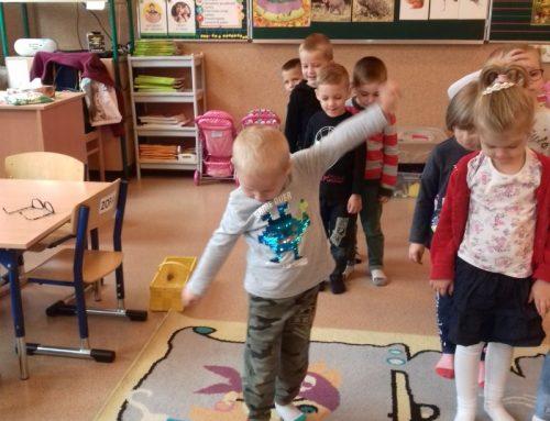 Zajęcia sensoryczne, plastyczne i Metoda Dobrego Startu w grupie Biedronki